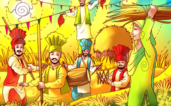 Why is Baisakhi celebrated and on What Date