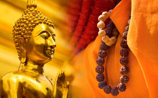 Gautama Buddha points to the weakness of human nature