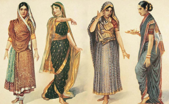 THE ORIGIN OF THE SAREE