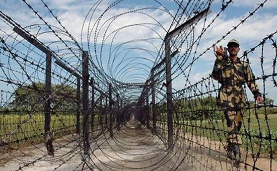 What is the similarity between opposition to the U.S. Mexico Wall and Bangladeshi Infiltration into India