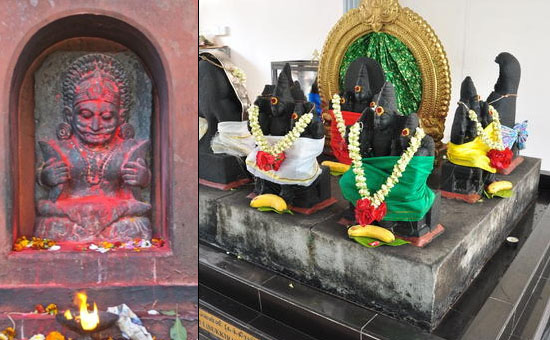 Worshipping the NAVAGRAHAS