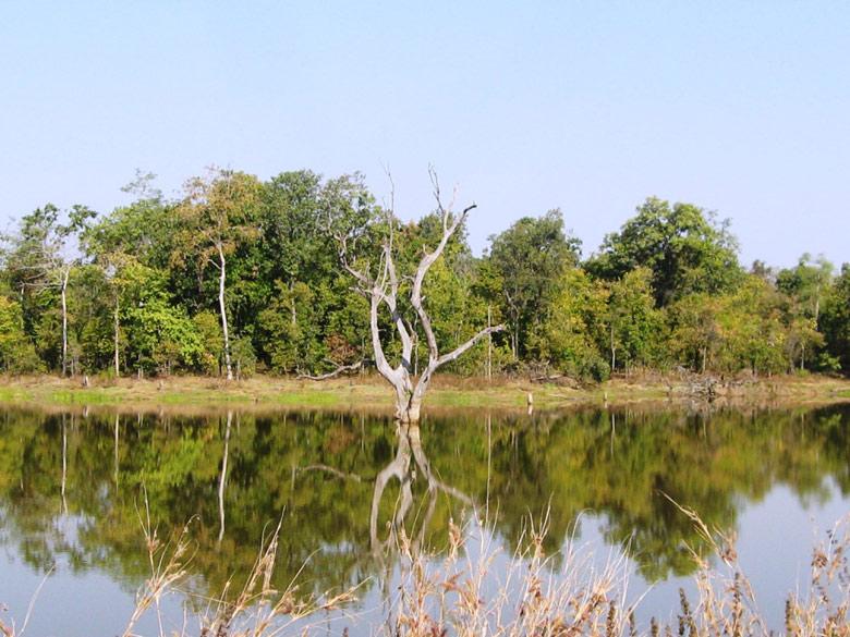 Barnawapara Mohoda Lake.