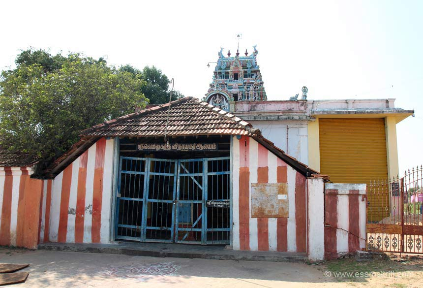 "Rameshwaram is 575 kms from Chennai. U see Ganesha Temple at Uppoor. It is called Sri Veyil Ugantha Vinayagar temple. ""When Sri Rama came to know about the place of captivity