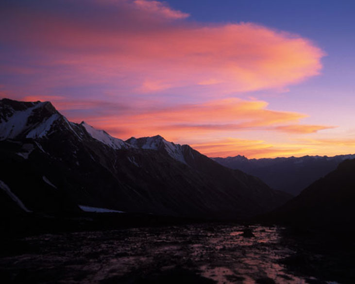 Evening beauty. It is for scenes like these that I love the Himalayas.