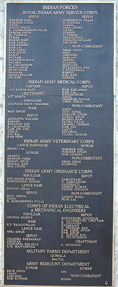 "This is board three. To see pics of Imphal War Cemetery <a href=""http://www.esamskriti.com/photo-detail/Imphal-War-Cemetery.aspx "" target=""_blank"">Click here</a>"