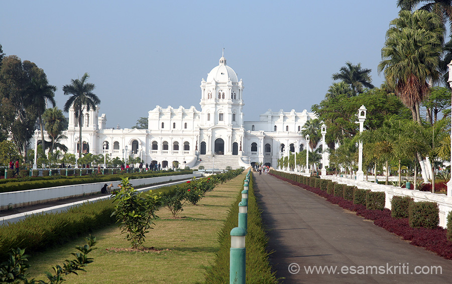 Pic of UJJAYANTA PALACE, Agartala. Rulers belonged to the Tripuri Tribal Community. Loved the palace-magnificent.