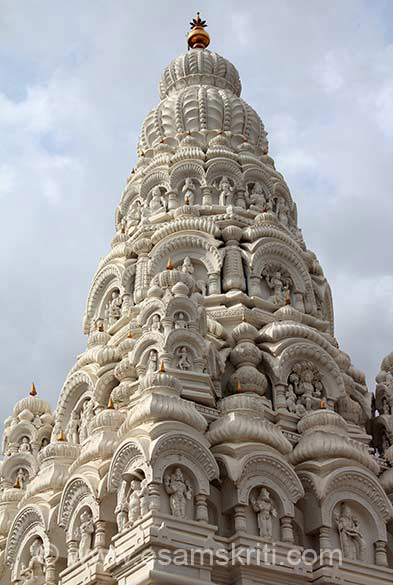 Temple Shikhar. To see pics of Shiv Temples all over India 