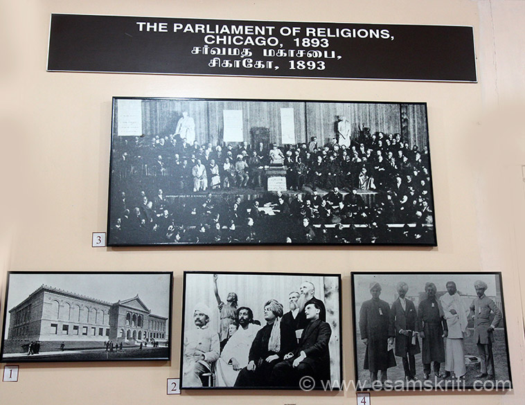 The Parliament of Religions.