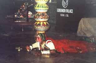 Dance at Gorbandh Palace