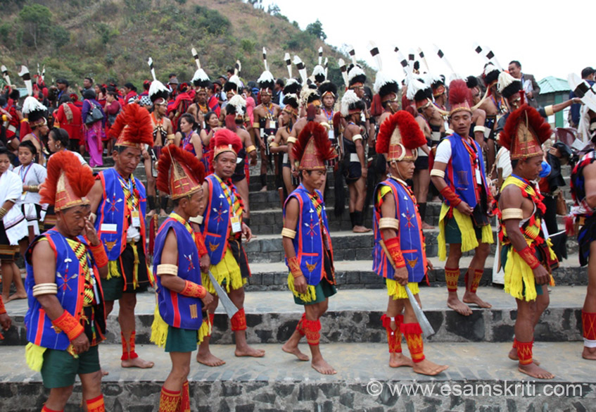 Colorful Pochury tribe. Other cultural events are KURIATSEI HIRILIA-HA, AE-WUH (game popular among young boys and girls in morungs), KUHUNYIE, KHALOLO-KUNE, A-HE, TUTU KHEI and LAWAI.