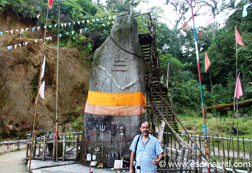 I was so happy to visit the Shiva Lingam. As a Saivite by evolution felt more connected with the Lingam. I thanked driver Chandan Barua and friend/guide P G Dodum for getting me 