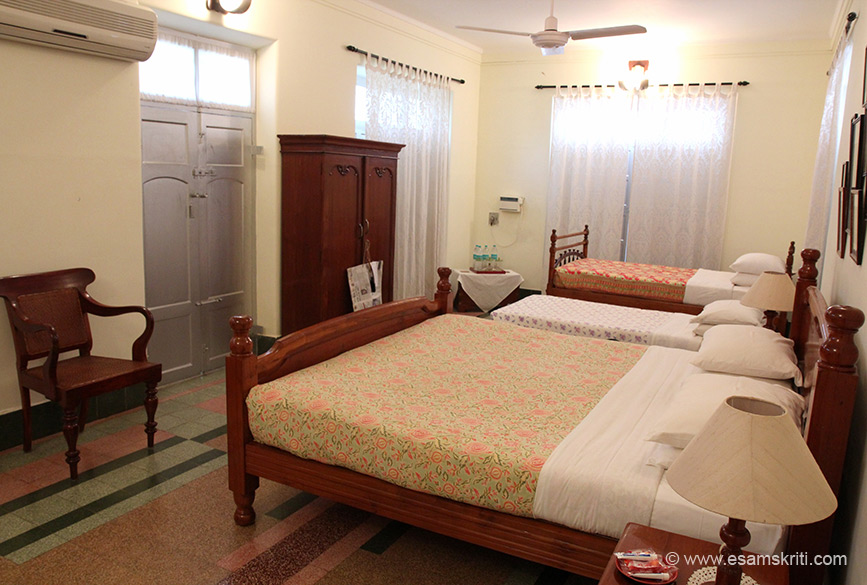 "The Bangala was fully booked when we went. With difficulty got to click a room. For reservations mail the <a  href=""mailto:bangala@gmail.com"">bangala@gmail.com</a>  or call 91 44 24934851. Site is <a href=""http://www.thebangala.com/"" target=""_blank"">Click here</a>"