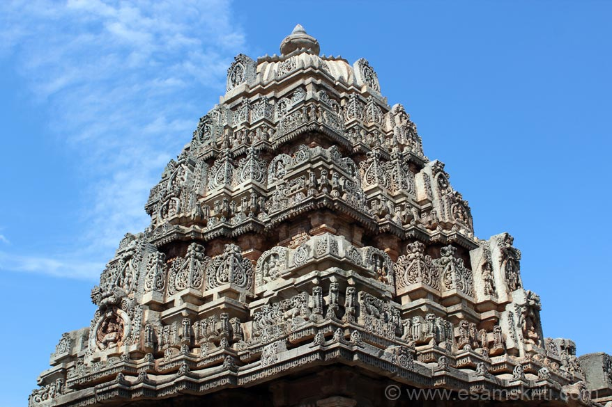 Close up of the shikhara. Beats me how the workers of those times did such intricate work that has lasted hundreds of years.