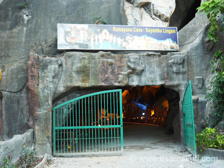 "Another small cave ...epic Ramayana and recently formed Shuyambu Linga. To know more about caves <a href=""http://www.malaysiasite.nl/batucaveseng.htm"" target=""_blank"">Click here</a>"