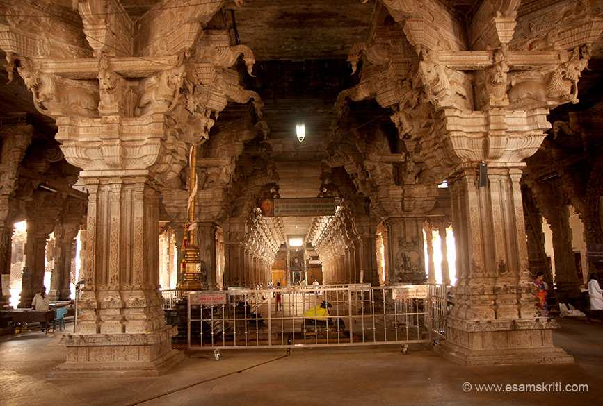 "Gives you a sense of temple grandeur and design. So glad I visited. ""Temple has many mantapams, Unjal M, Hundred pillared M, Thousand pillared M, Vasantha M, Navaratri M and 