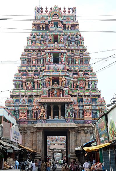 "Gopuram 2. ""This temple is also known as Thiruvaranga Tirupati, Periyakoil, Bhoologa Vaikundam, Bhogamandabam. In the Vaishnava parlance the term ""KOIL"" signifies this temple only. """