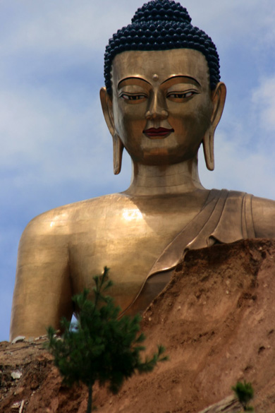 Bhutan is building the tallest seated Buddha statue in the world.