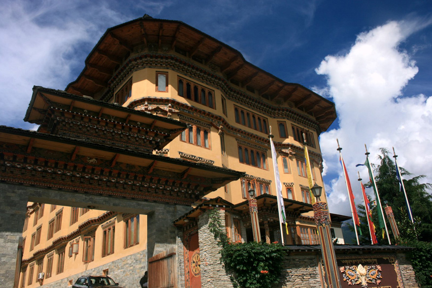 This is the Namgay Heritage hotel, where I stayed.  The tariff is