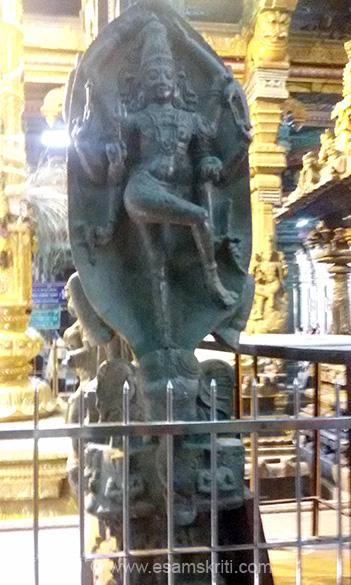 Image looks like Dakshinamoorthy.
