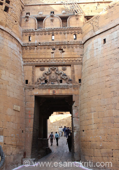 Entrance to the Fort.