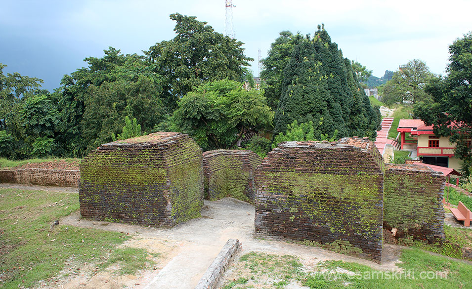 Itafort ``The fort of bricks`` from which the State capital dervies its name. U see old fort walls. It dates back to the 14-15th century. The total brickwork is of 16,200 cubic metre length 