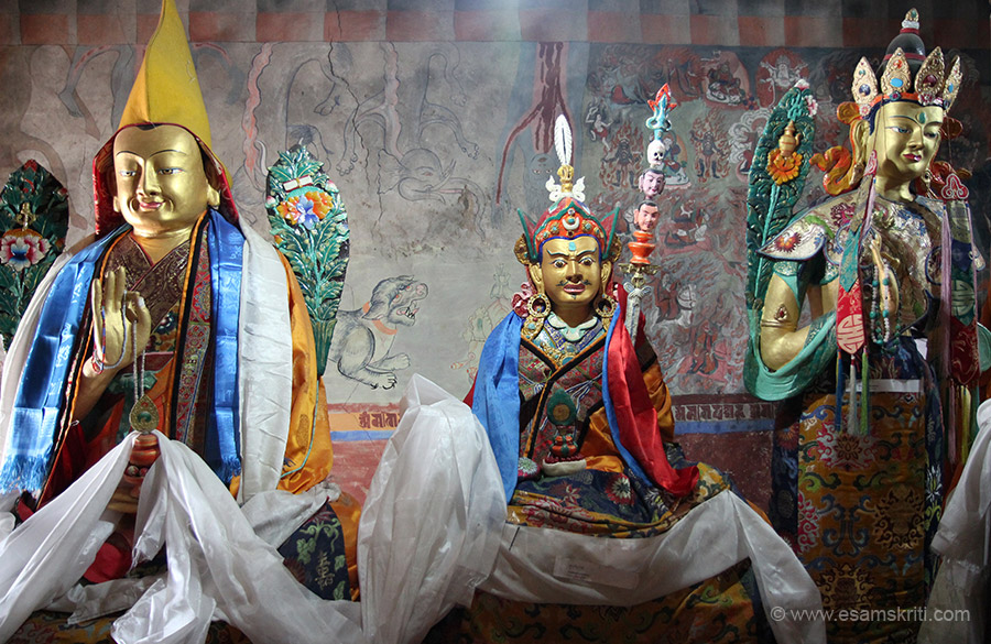 "Please help with description of image. To see pics of Deities of Ladakh <a href=""http://www.esamskriti.com/photo-detail/Deities-of-Ladakh.aspx"" target=""_blank"">Click here</a>"