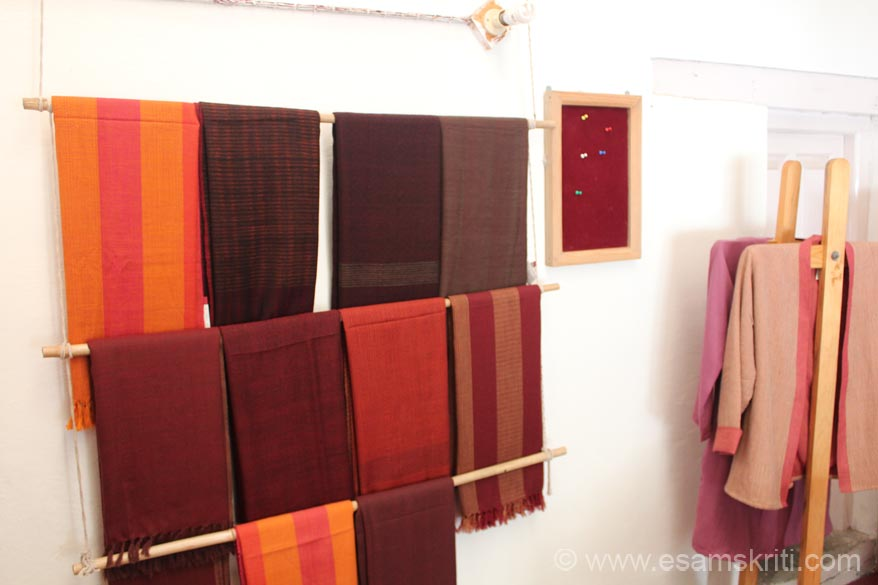 Close to the hospital is a CHIRAG outlet called KILMORA. U see shawls on display.