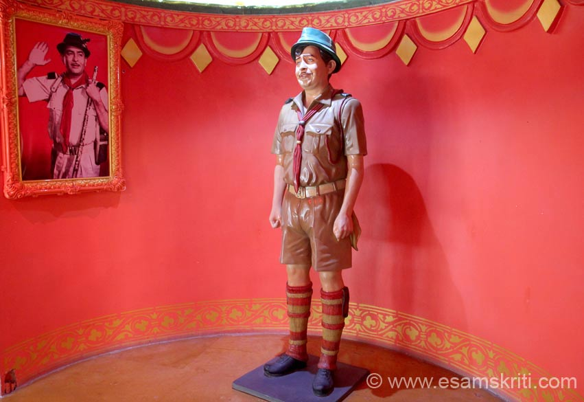 "RK in the movie Saudagar where Hema Malini was the heroine. Information about Raj Kapoor and Museum from MIT International School of Broadcasting and Journalism site. To read more <a href="" http://www.mitisbj.com/campus/raj-kapoor/"" target=""_blank"">Click here</a>"