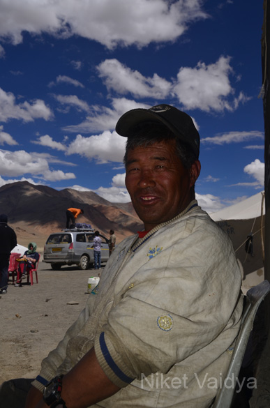 Our local Ladakhi host at Debring.
