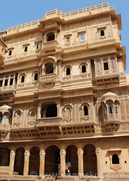 This is the second haveli in this complex.
