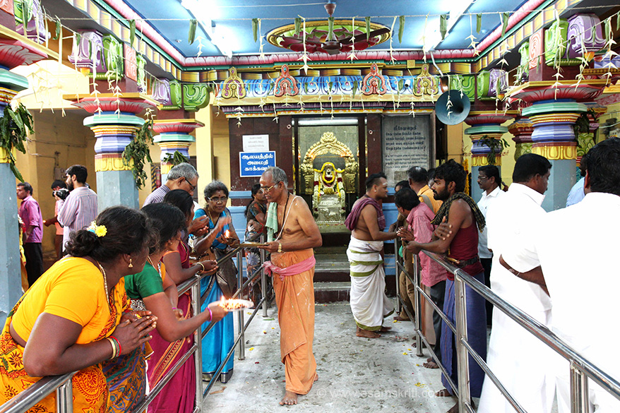 "Kethu Kshetram at Keezhperumpallam. Pic inside shrine. ""Ketu brings prosperity to the devotee's family. He grants good health, wealth, cattle and all round prosperity. He is ruled by Lord Ganesha and Indra. . Those who are affected by Kethu dosha come here for rectification."""