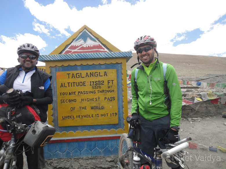 Second highest motorable road in the world.
