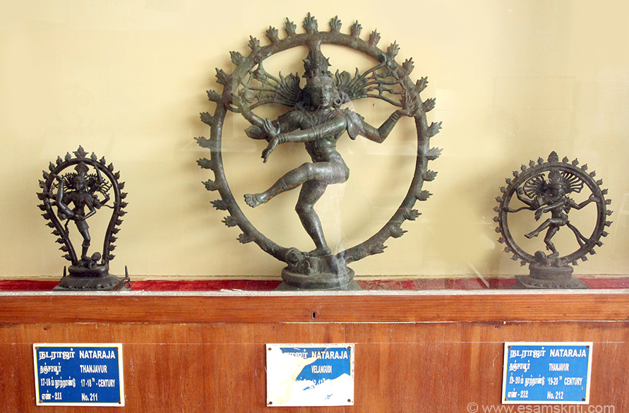 "Left to right is Thanjavur 17-18th century. Right is Thanjavur 19-20th century. To see more pics of bronze statues at art gallery <a href=""http://www.phenomenalplace.com/2014/05/bronze-sculptures-of-thanjavur-art.html