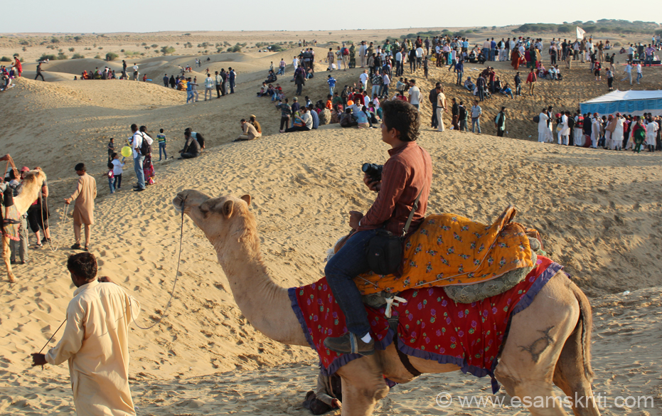 Sam Dunes are 45 kms from Jaisalmer. This collections covers the dunes and cultural program on day 3 of the Jaisalmer Desert Festival. There are numerous hotels with tents where