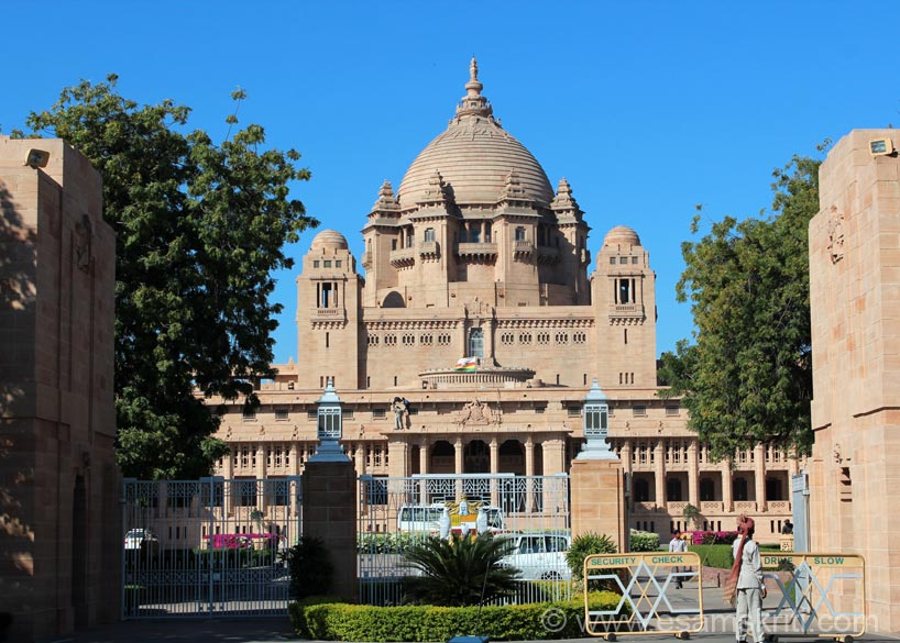 I first visited Jodhpur/Umaid Bhawan Palace in 1981. Was fortunate to visit again in 2013. This time decided to click and share pics. The 