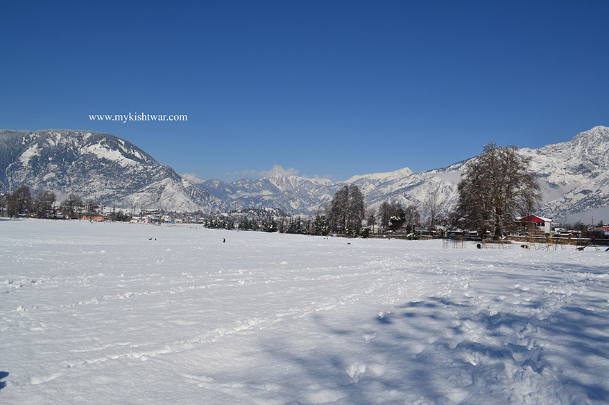 Kishtwar in Snow