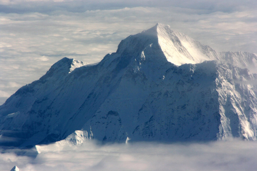 This one is Makalu or Makaru, the 5th highest peak in the world.
