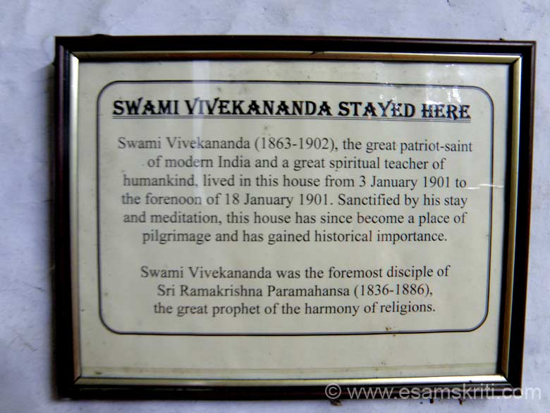 What is the importance of Mayavati Ashram. In January 1901, Swami Vivekananda stayed here for 15 days. Sanctified by his stay and meditation, the house became a place of pilgrimage 