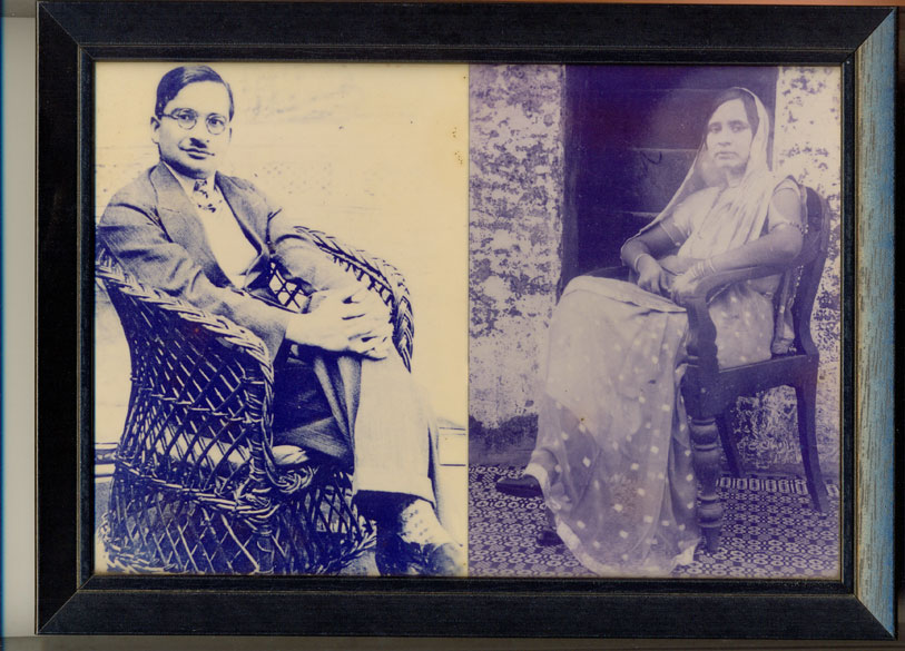 My Nana (Dr Tarachand Kashyap-born in village Kaka Kowlon in Tehsil Wazirabad district Gujranwala Punjab, child of Lala Gopal Das and Bebeji Hari Devi ) and Nani (Smt Vidyavati Kashyap-child of Lala Hoshnak Rai 