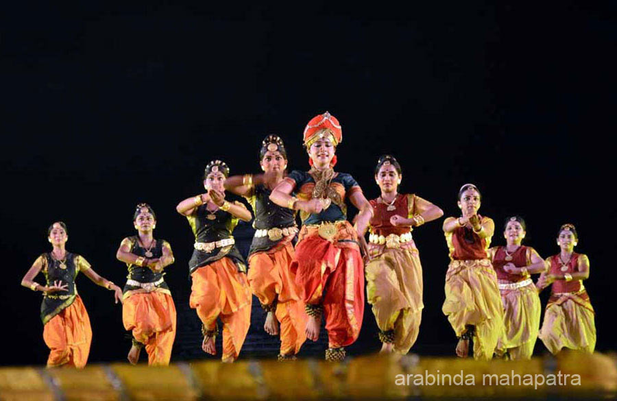 The story of two women who have glorified the history of India got lively projected in Kuchipudi.