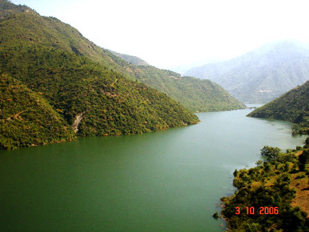 Another view Tehri Taal.