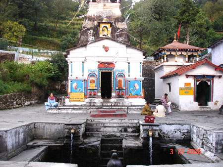 "Just before Kedarnath is Sonprayag. Nearby, at GuptKashi, is a famous Shivji ka mandir. This is where Shiva turned invisible to escape from the Pandavas (hence the name, Gupt, which means ""invisible""), who were pursuing him and finally caught up to him la"