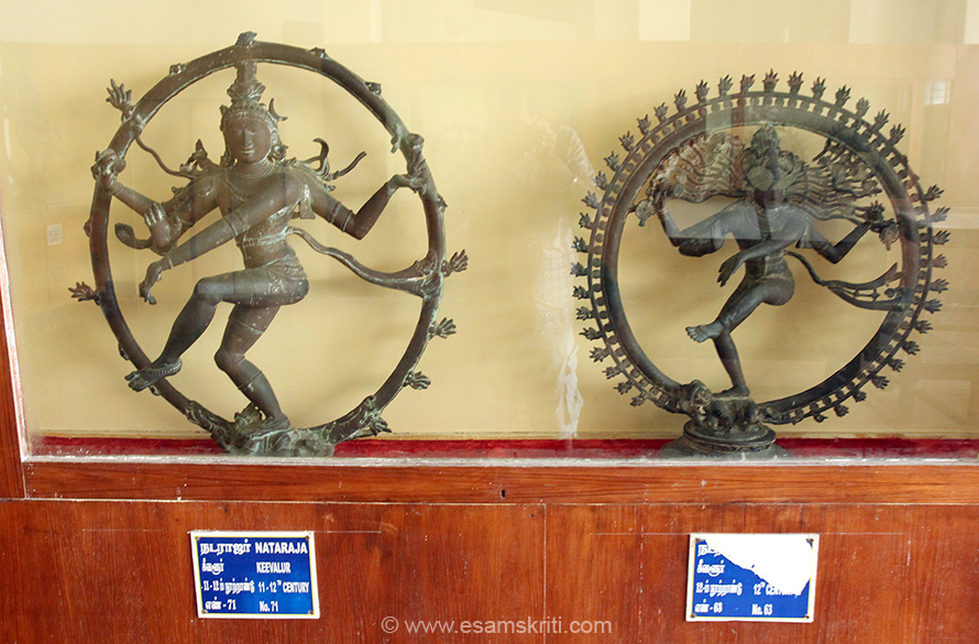 "Left is 11-12th century from KEVAlUR. Right is 12th century. To see more pics of Natarajas and very good information <a href=""http://www.phenomenalplace.com/2014/05/thanjavur-art-gallery-1000-years-of.html