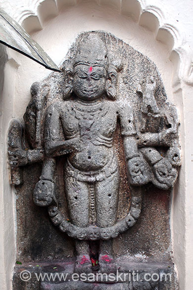 This image is in wall inside temple.