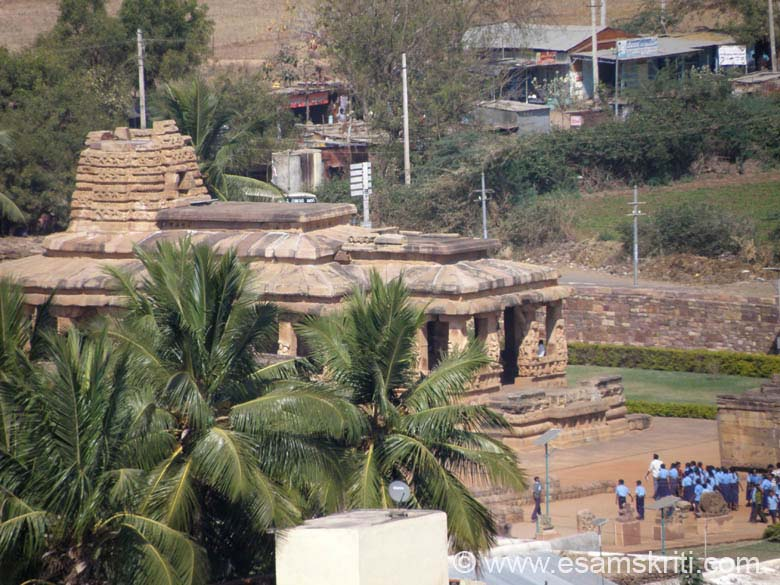 A view of the Durg Temple taken from top of hill where stands a Jain temple. Loved the Durg temple.