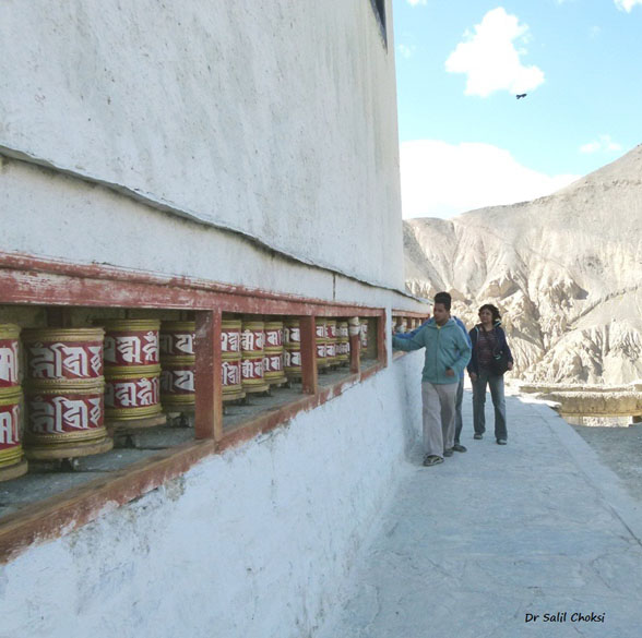 "Lamayuru Monastery. To know <a href=""http://www.buddhist-temples.com/buddhist-monastery/ladakh/lamayuru.html"" target=_blank>click here</a>"