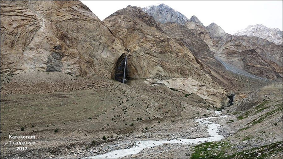 Trek across Glaciers & Mountains of East Karakoram