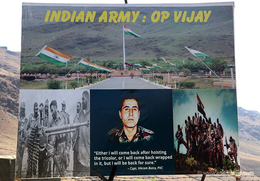 When you visit Drass have to remember the very very brave and inspirational Captain Vikram Batra. This board is somewhere on the highway. To see pics of a VTC, Livelihood College Dantewada in Bastar 