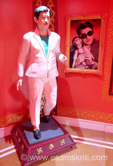 Look in movie Mera Naam Joker. The museum also has Raj Kapoor ki Samadhi. It is a very peaceful and serene place made close to Raj Kapoor``s bungalow that stands today as was.