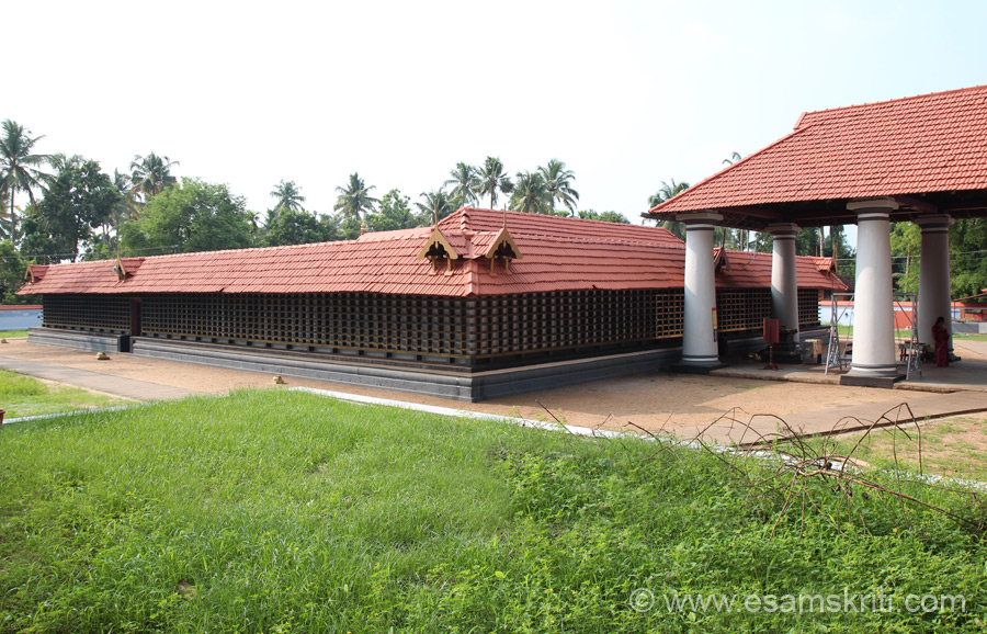 Over view of temple. Found all temples to be very clean, silent and peaceful. Temple dedicated to Lord Ayappa.